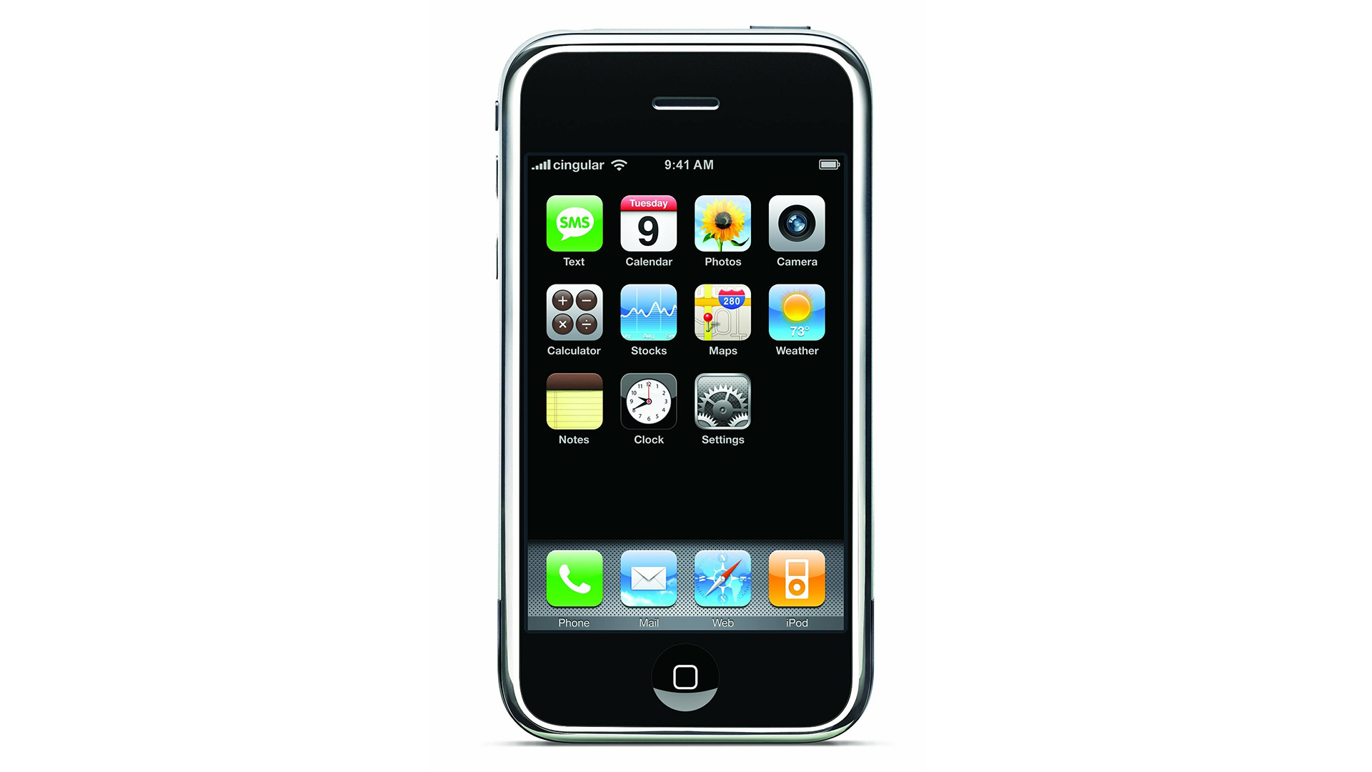 Apple iPhone 1. generace z roku 2007