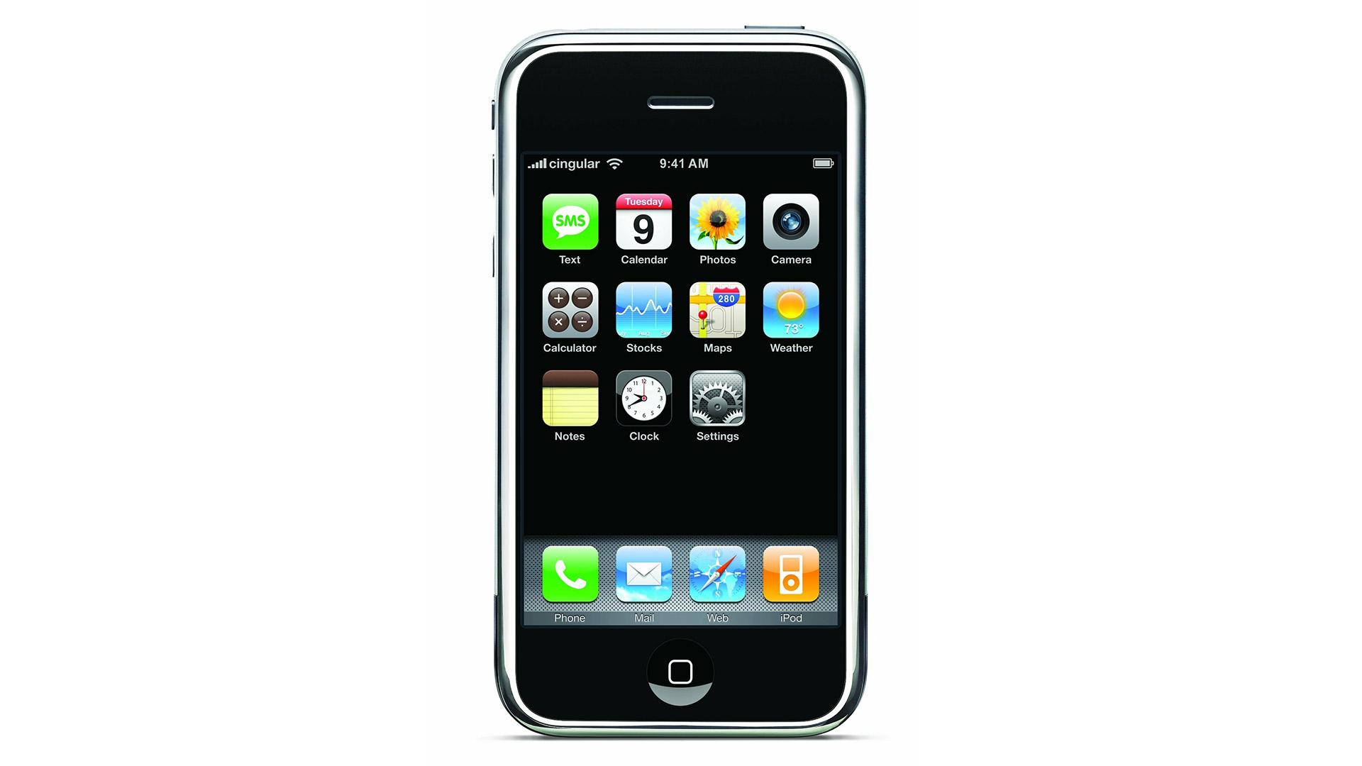 Apple iPhone 1. generace z roku 2007
