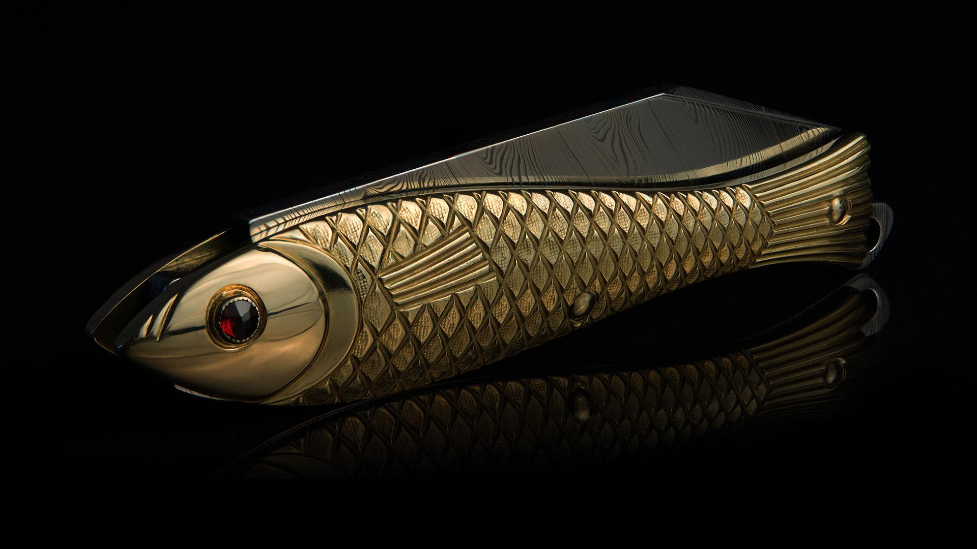 Limitované verze nože Rybička od Mikov. © Mikov