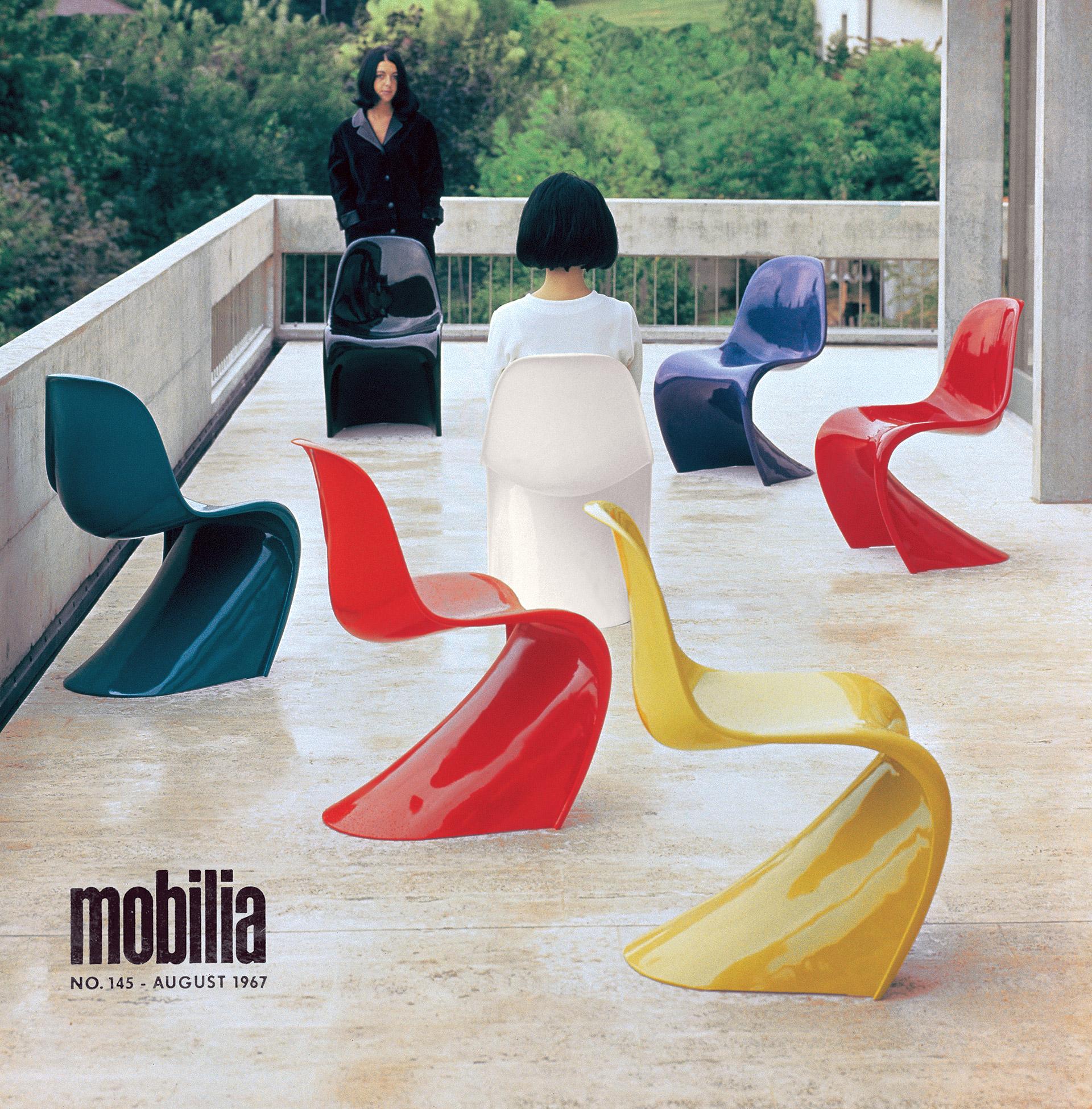 Poprvé představený finální model židle Vitra Panton Chair. © Louis Schnakenburg