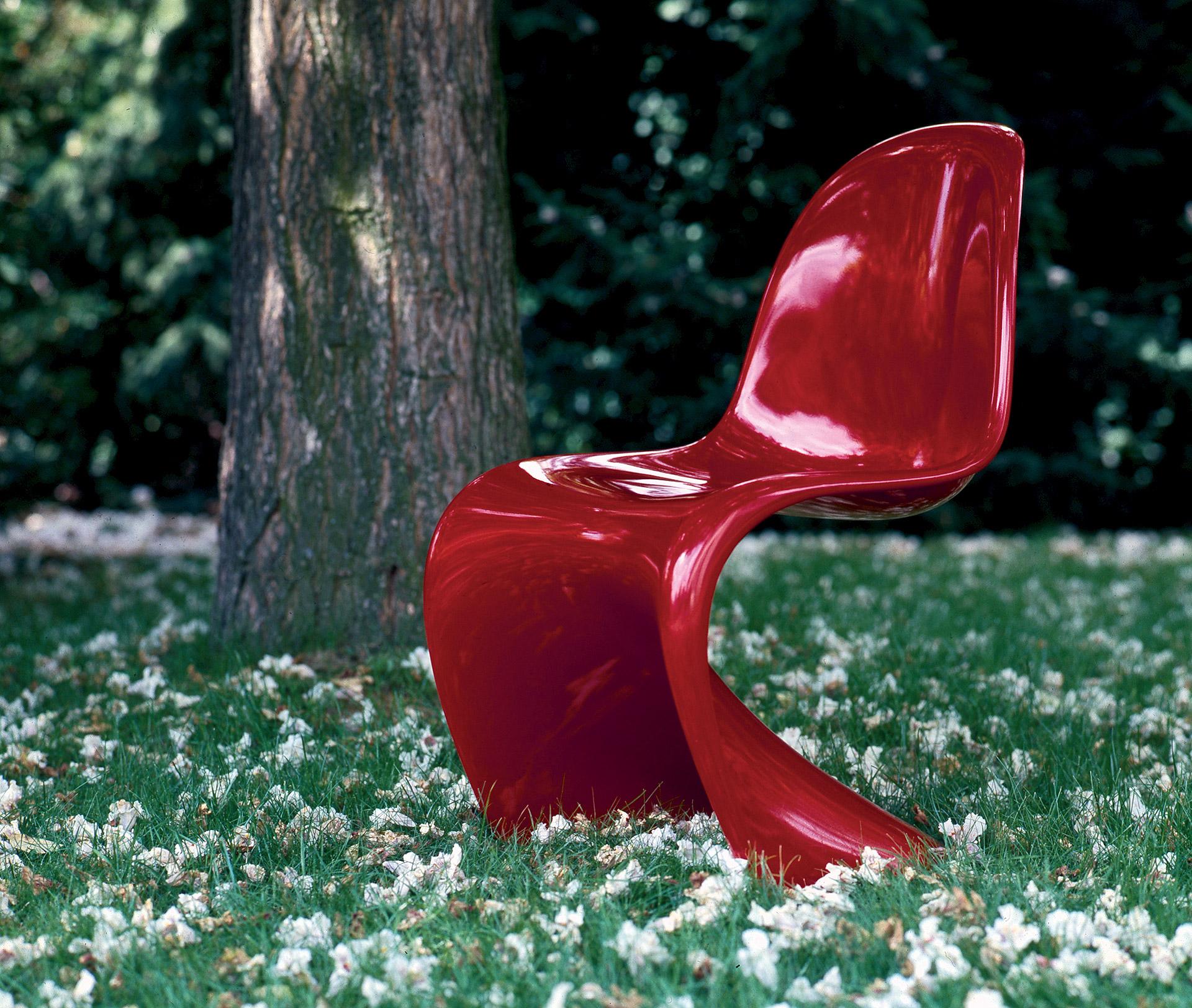 Židle Panton Chair od značky Vitra. © Panton Design