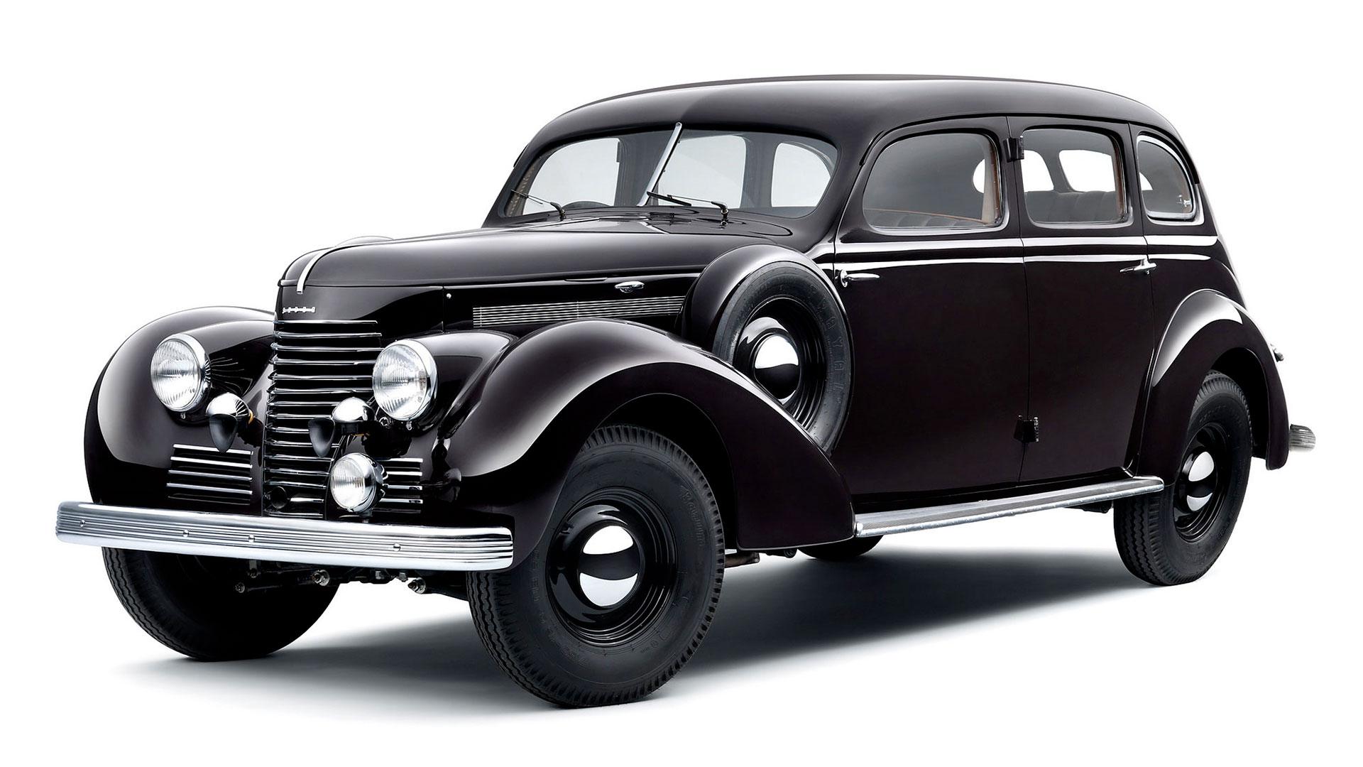 Škoda Superb 3000 OHV z roku 1939. © Škoda Auto