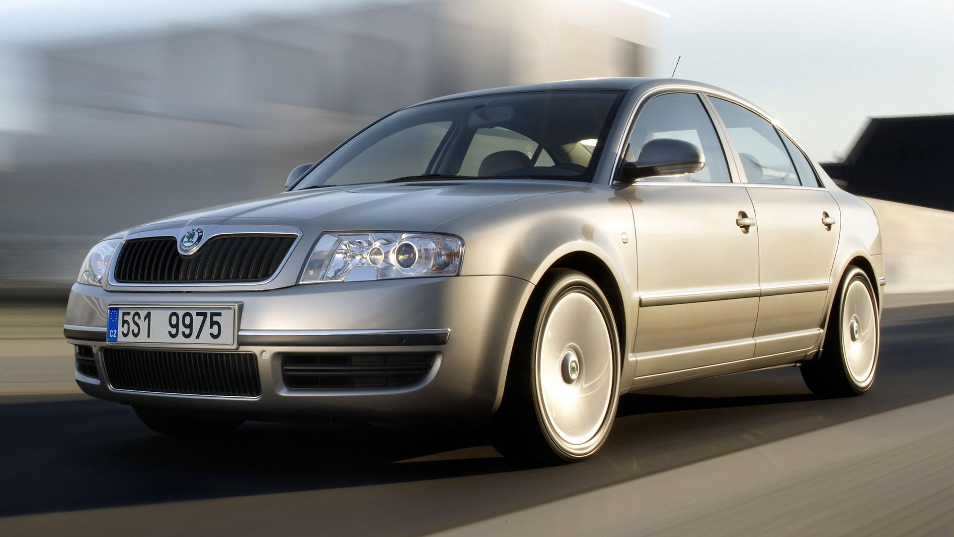 Škoda Superb z roku 2001. © Škoda Auto
