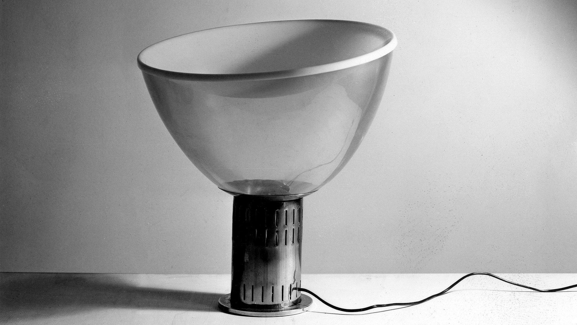 První prototyp svítidla Taccia. © Fondazione Achille Castiglioni