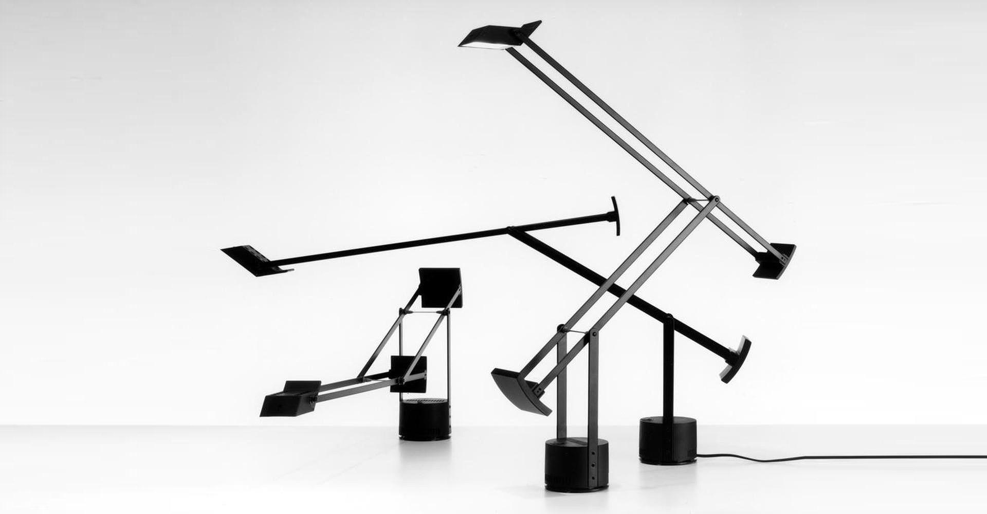 Zmenšená verze stolní lampy Tizio 35. © Richard Sapper